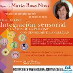 Clase online Integración Sensorial en la vida de la persona con sindrome de Angelman | NOVIEMBRE 2017