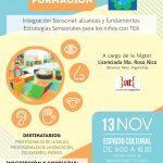Jornada de formación en Integración Sensorial Uruguay | NOVIEMBRE 2017