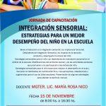 Jornada de Capacitación en Integración Sensorial en Paraná, Entre Ríos | NOVIEMBRE 2019